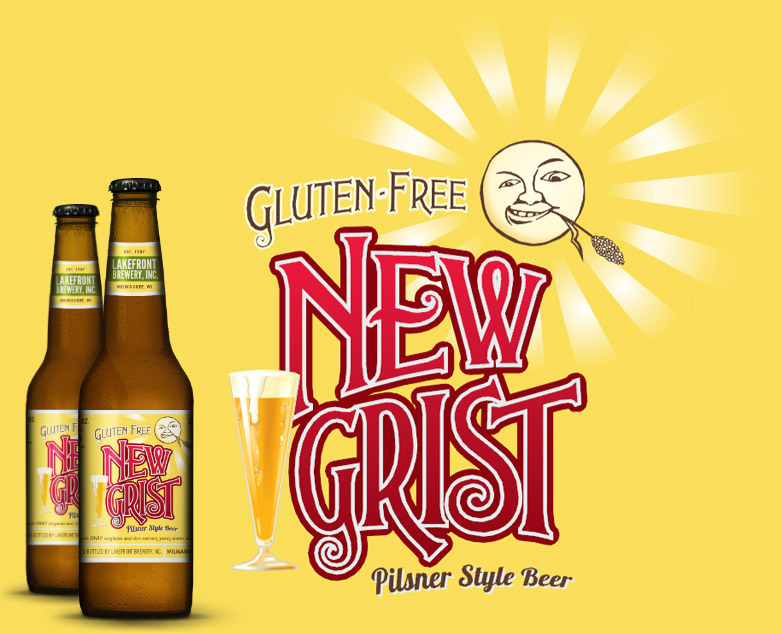 New Grist Logo and Two Bottles